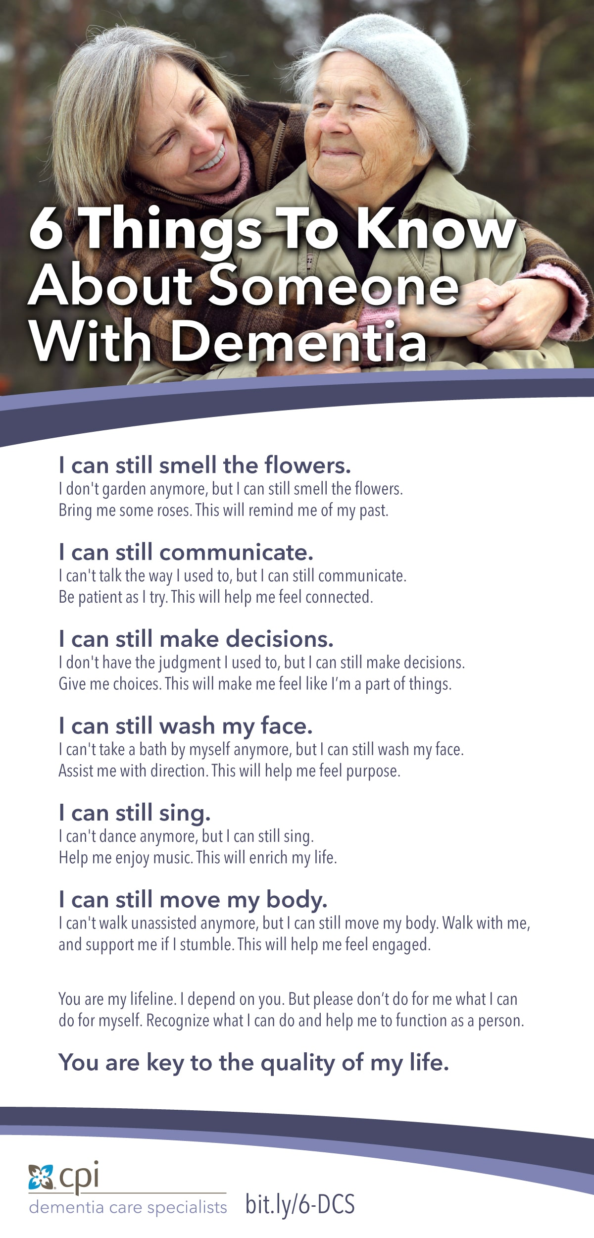 6 Facts About a Person Dementia
