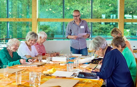 Activities for Dementia: How to Engage Seniors in Arts & Crafts