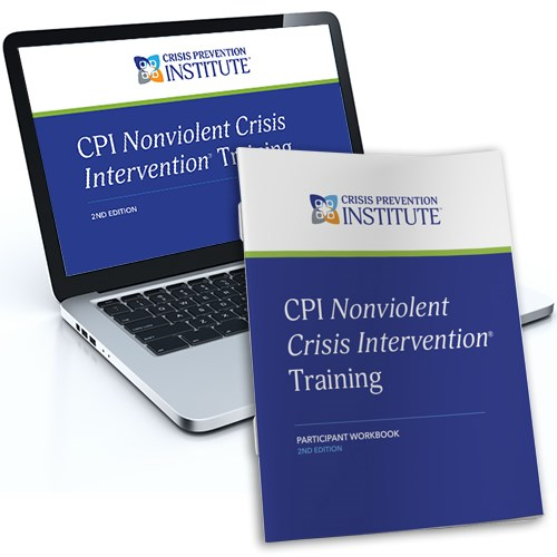 Nonviolent Crisis Intervention® 2nd Edition Blended Learning Package (Online Course + Participant Workbook)