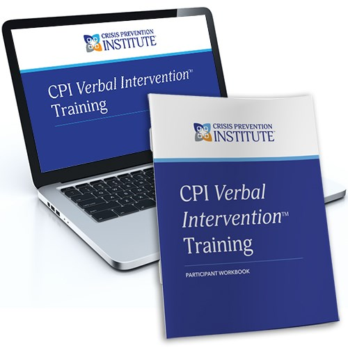 CPI Verbal Intervention™ Training Blended Learning Package (Online Course + Participant Workbook)