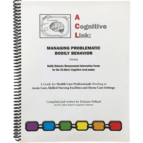 A Cognitive Link: Managing Problematic Bodily Behavior - TESTING