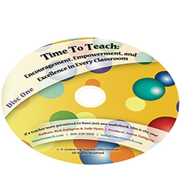 Time To Teach!® - Encouragement, Empowerment, and Excellence in Every Class - TESTING
