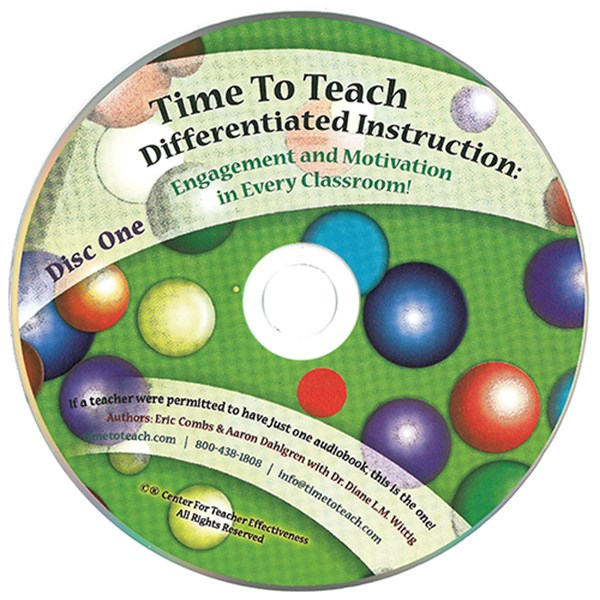 Time To Teach!® – Differentiated Instruction Audio Book - TESTING