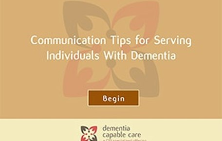 Communication Tips for Serving Individuals With Dementia