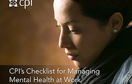 CPI's Checklist for Managing Mental Health at Work