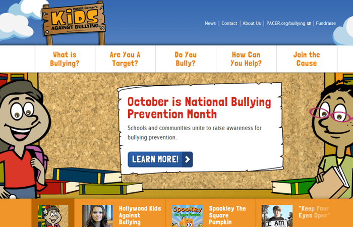 PACER Presents Mobile-Friendly Websites for National Bullying Prevention Month