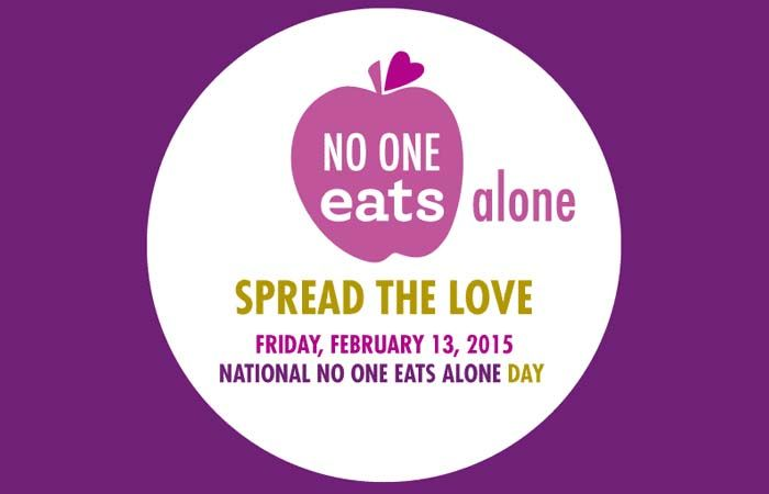 Students—Don't Eat Alone Today