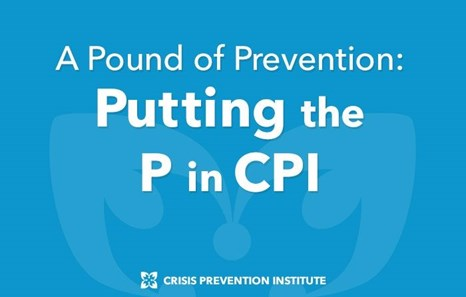 A Pound of Prevention: Putting the P in CPI