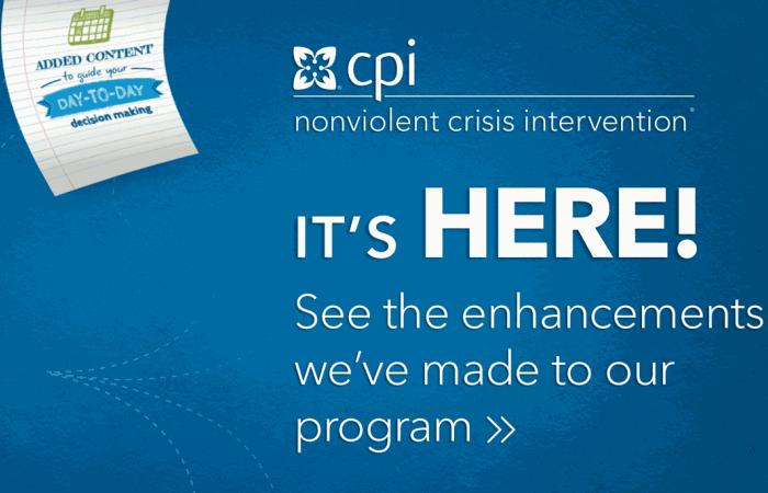 refresher cpi rh crisisprevention com CPI Training Test CPI Training Book