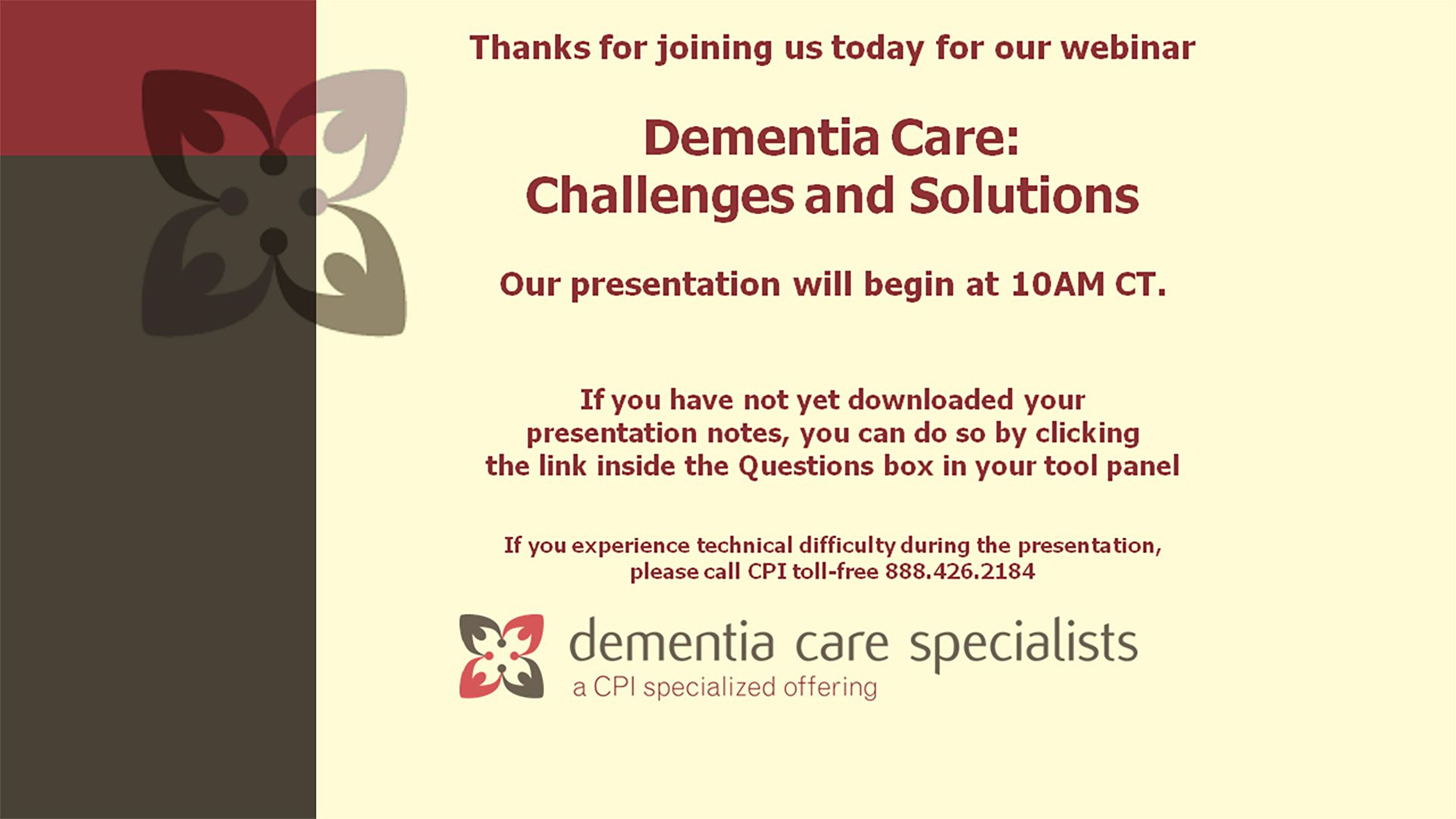 Dementia Care: Challenges and Solutions