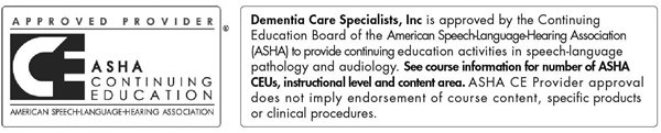 Approved Provider ASHA Continuing Education