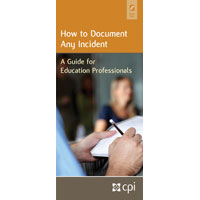 How to Document Any Incident Pamphlet for Educators image