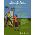 How to Be Good at Giving Bad News Poster image