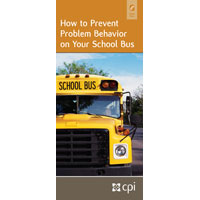 How to Prevent Problem Behavior on Your School Bus Pamphlet for Educators image