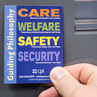 Care, Welfare, Safety, and Security Magnet image