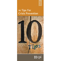 10 Tips for Crisis Prevention Pamphlet for Educators image