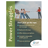 Avoid a Power Struggle Poster image