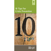10 Tips for Crisis Prevention Pamphlet image