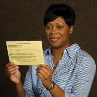 Quick Tips Yellow Laminated Card image