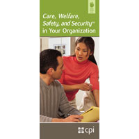 Care, Welfare, Safety, and Security Pamphlet image