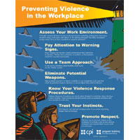 Preventing Violence in the Workplace Poster image