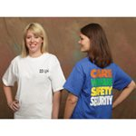 Care, Welfare, Safety, and Security Tee image
